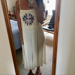 URBAN OUTFITTERS MAXI DRESS WITH AZTEC PRINT